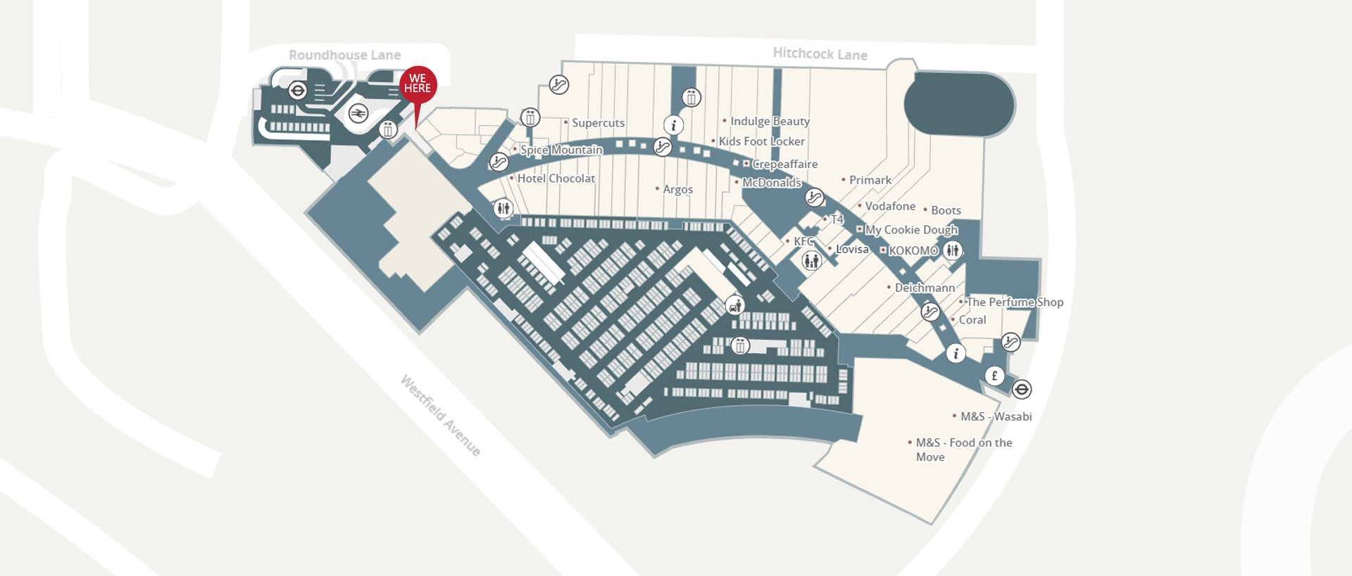 Map Of Westfield Stratford Stratford City Cars E15 | Minicabs | Contact Us | Minicabs London
